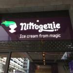 """新感覚のアイスクリーム """"Nitrogenie"""""""